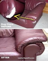 Refurbish Leather Sofa Extraordinary Repairing Leather How To Repair Leather
