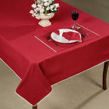 Lenox Home Decor Lenox French Perle Scarlet Table Linens