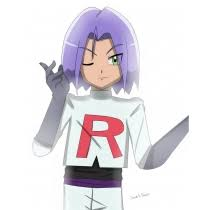 Team Rocket Halloween Costume Pokemon Team Rocket James Cosplay Costume Free Shipping