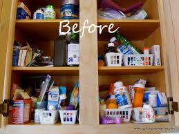 organize medicine cabinet kitchen medicine cabinet joyful homemaking