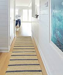 Navy Runner Rug Coastal Nautical Runner Rugs That Make An Entry Shop The Look