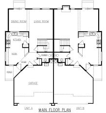 duplex plans with garage in middle duplex house plans with garage marvelous idea 9 in the middle duplex
