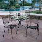 Bradford Outdoor Patio Dining Set by Woodard | Family Leisure