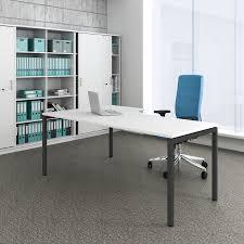 Details Zu Schreibtisch Winkelschreibtisch Computertisch Winkelschreibtisch Rechts Nova 1 800 X 1 200 Mm Weiß Bürotische