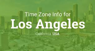 Time Zone Map For Usa Daylight Saving Time Dates For Usa U2013 California U2013 Los Angeles