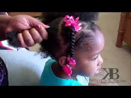 hairstyles for little girls with no edges cute girls hairstyles natural hair ponytails youtube