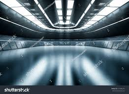 modern future background technology scifi interior stock