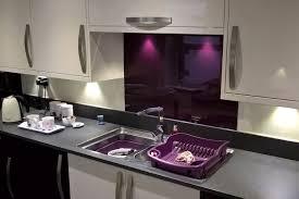 beautiful aubergine acrylic perspex kitchen splashback acrylic