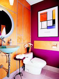bright colorful bathroom small bathrooms color idea ewdinteriors