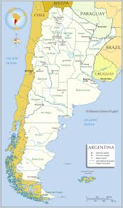 South America Map Countries And Capitals by Administrative Map Of Argentina Nations Online Project