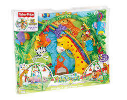 fisher price rainforest music and lights deluxe gym playset shop for fisher price rainforest melodies lights deluxe gym