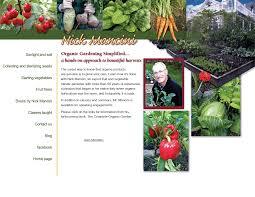 gardening picture organic gardening simplified by nick mancini info
