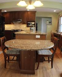 kitchen island instead of table kitchen dining island long dark table contemporary brown chair