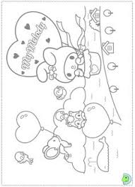 sanrio coloring pages my melody coloring pages fantasy coloring pages my melody