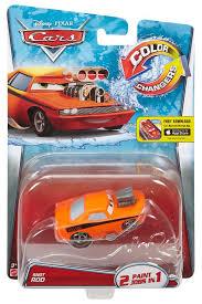 disney pixar cars color changers snot rod vehicle toys