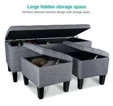 Bedroom Storage Ottoman Bedroom Ottomans And Benches Gallery Of Not Until Addison Fabric