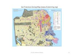 san francisco land use map ii land use