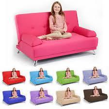 seater 100 cotton convertible clic clac children u0027s sofa bed