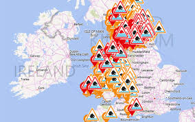 Lancashire England Map by Storm Eva Latest 200 Year Old Pub Collapses In Floods As 10 000