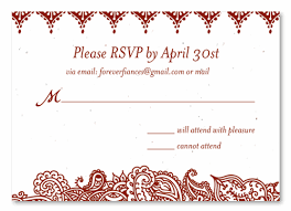 pledge cards template indian wedding response cards shantih seeded paper