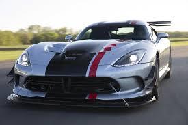 2016 dodge viper 2016 dodge viper acr is the racecar ny