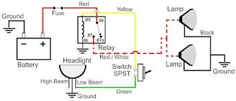wiring diagram for light bulb circuit and schematics diagram