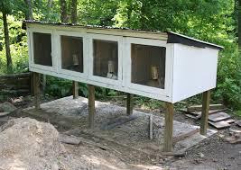 Stackable Rabbit Hutches How To Build Commercial Rabbit Cages U2014 Steveb Interior
