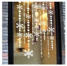 2 ways to make the so popular snowflake curtains a window