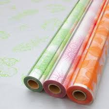 floral gift wrapping paper transparent cellophane gift wrap roll christmas gift