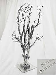 manzanita tree centerpieces balsacircle 32 potted manzanita tree with garlands