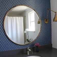 bathroom round mirror bathroom round gold mirror design ideas