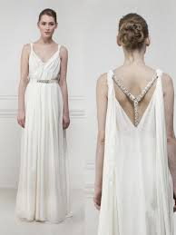 wedding dresses goddess style goddess style wedding dresses pictures ideas guide to