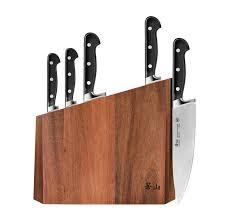 cangshan v2 series 59908 6 piece german steel forged knife block
