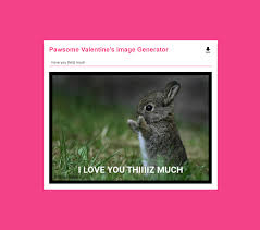 Valentine Meme Generator - building a valentine s day meme generator via lit html and webcomponents