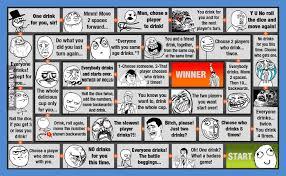 Meme Drinking Game - my meme drinking game board 9gag