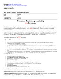 Mba Skills Resume Mba Marketing Resume Sample Resume Peppapp