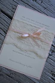 wedding invitations dc lace belly band around wedding invitation with satin ribbon