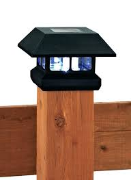 Solar Light Caps For Deck Posts by Deck Post Solar Lights 6x6 Led 4x4 37116 Interior Decor