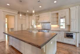 merillat kitchen islands country kitchen with wood counters by brickmoon design zillow