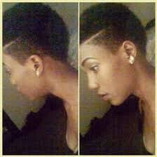 short haircuts eith tapered sides 28 best women fades images on pinterest african hairstyles