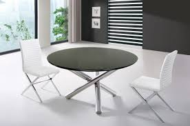 Dining Room Table Modern Modern Round Dining Table For 6 Regarding Modern Round Dining