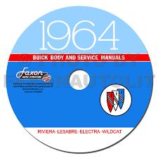 1964 buick repair shop manual original riviera lesabre wildcat