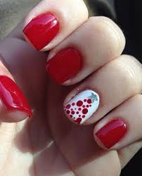 the 25 best red christmas nails ideas on pinterest christmas