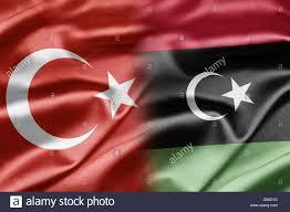 Libyas Flag Turkey And Libya Stock Photo Royalty Free Image 55329276 Alamy