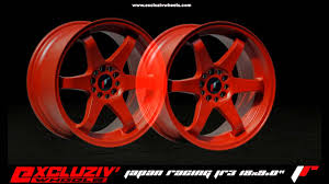 lexus is200 deep dish wheels excluziv u0027wheels jante japan racing jr3 rouge youtube