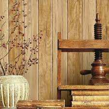 wood board wall vintage stripe wall paper waterproof thickened pvc wood grain wood
