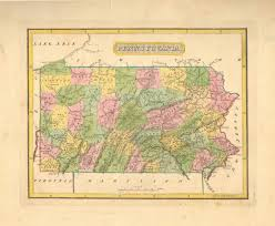 Pennsylvania On Map by Antique Maps Of Pennsylvania