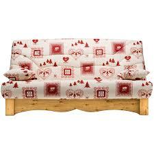 canapé montagne banquette lit clic clac cœurs meuble de salon