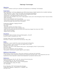 Sample Resume Objectives Pharmacy Technician by Ct Tech Resume Examples Resume For Your Job Application