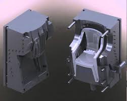plastic chair molding model